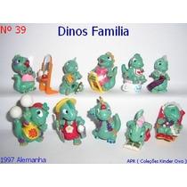 Kinder Ovo - Coleção Completa - Dinos Familia