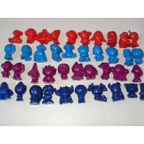 Panini 40 Bonecos Pequenos E Formato Geloucos