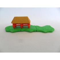 Brinquedo Antigo Coleção Kinder Ovo Curral De Fazenda