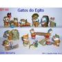 Kinder Ovo - Coleção Completa - Gatos Do Egito