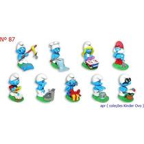 Kinder Ovo - Coleção Completa - Smurfs