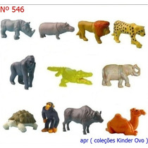 Kinder Ovo - Coleção Completa - Natoons Africa