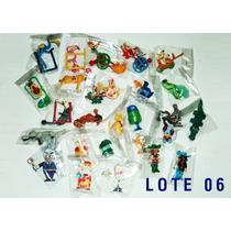 Lote De Miniaturas De Kinder Ovo - 50 Peças - Lote Completo