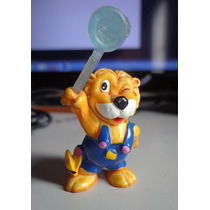 Kinder Ovo Leões Miniatura Leo Ventura Caçador De Borboletas