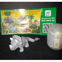 Dinossauros Kinder Ovo 2016 - Triceratopo Complete