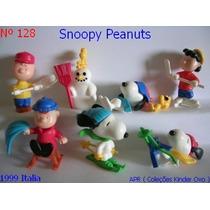 Kinder Ovo - Coleção Compl. - Peanuts Snoopy