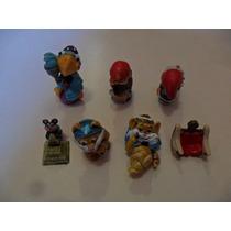 Lote 7 Bonecos Coleção Kinder Ovo Ferrero Anos 90