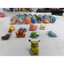 Miniatura Encapsuladas Pokemon Pacote Com 100 Capsulas