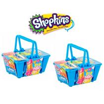 Kit 4 Shopkins Em 2 Cestinhas Lacradas Dtc