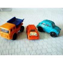 Lote Kinder Ovo 3 Veiculos - Caminhão Basculante + 2 Carros