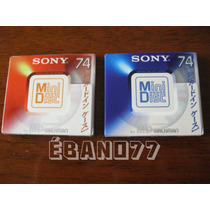 Set Mini Disc Md Sony Sparkling Series 2 Unidades Raro