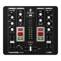 Mixer Behringer Vmx100 Usb Na Studio Som João Loja Física !