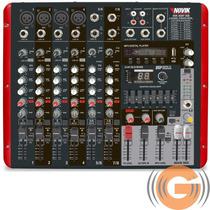 Mesa Amplificada Novik Neo 800p 600w Efeitos Eq Mp3 Player
