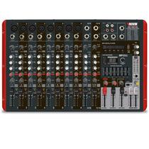 Mesa Amplificada Novik Neo 1200p 600w Efeitos Eq Mp3 Player