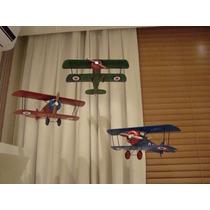 Avião Thomas Morse P/ Decorar Quarto De Bebê Preço Por Avião