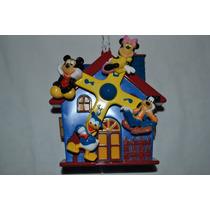 Mobile Giratório Musical De Carrinho E Berço Do Mickey