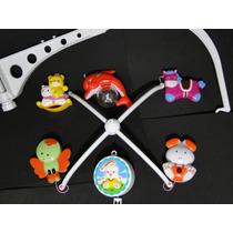 Mobile Musical Giratório Animais Disney Para Berço Bebe