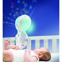 Bebê Mobile De Berço Mesa Com Coruja Lua E Projetor Estrelas
