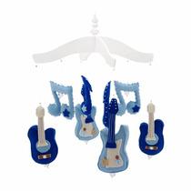 Mobile De Berço Guitarra - Rock Star Meninos Quarto Do Bebê
