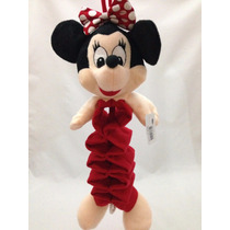 Móbile Pelúcia Minnie Sanfonado Musical Bebê Berço Disney