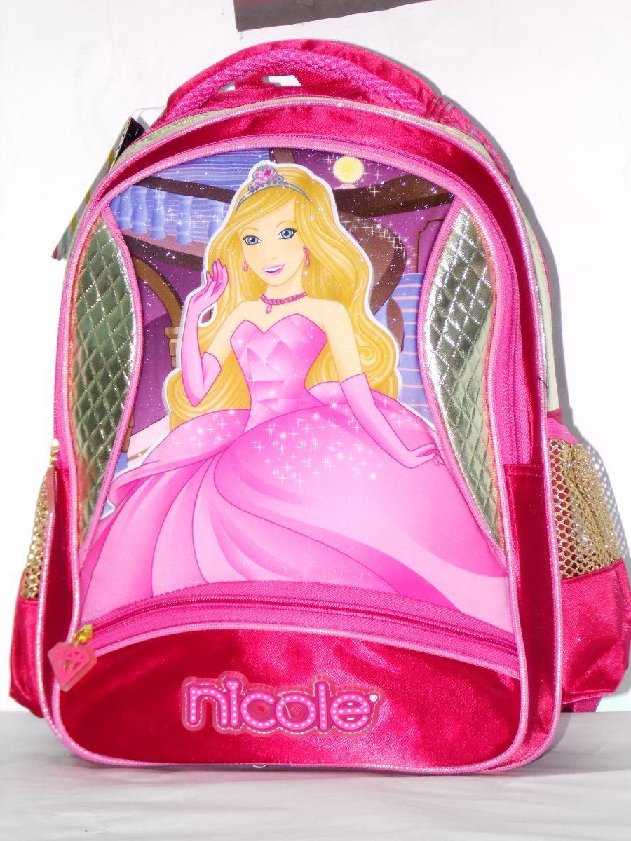 Bolsa Escolar Feminina Infantil : Mochila escolar infantil feminina nicole r no