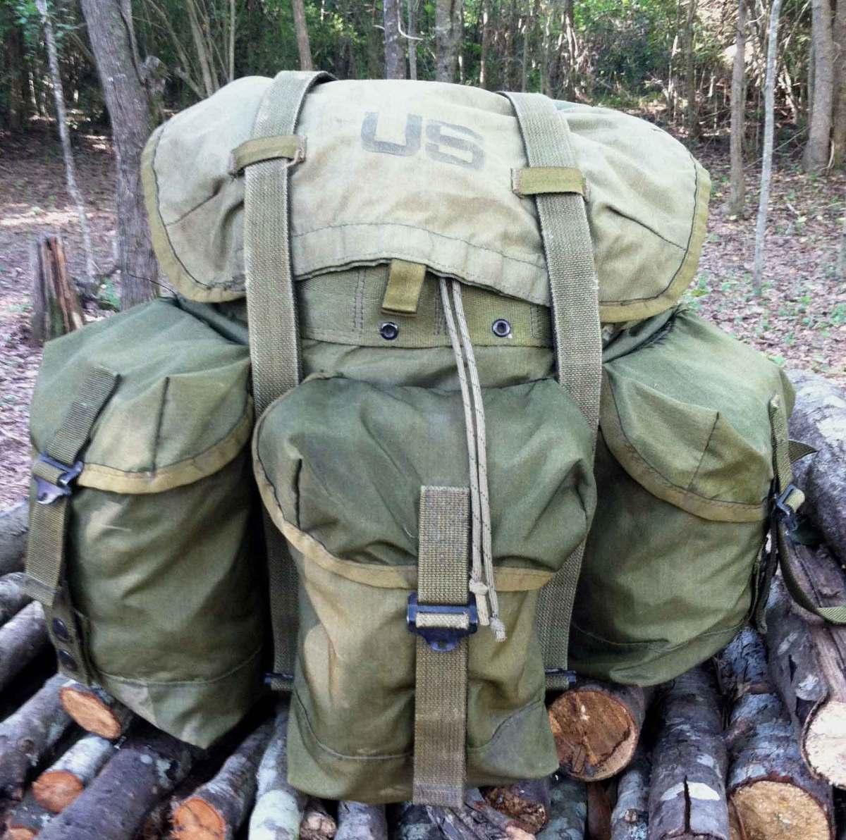 mochila militar americana media capacidade alice ca ador