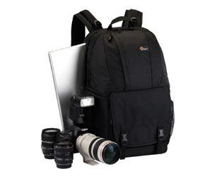 Mochila P/ Câmera Dslr E Notebook 17 Fastpack 350 Lowepro