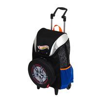 Mochila C/ Rodas Grande Hot Wheels 14z Ref.:063101 Sestini