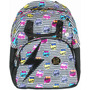 Mochila Sestini Monster High Escolar Teen I Love Rock 071089