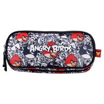 Estojo Angry Birds C/ 2 Divisórias - Ref Abe501030
