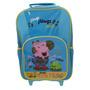 Mochila Da Peppa Pig De Rodas George Lama Premium