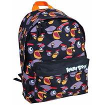 Mochila Costas Alças Angry Birds Color Santino