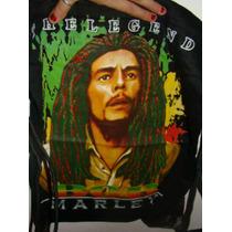 Mochila Com Estampa Do Bob Marley Promoçâo Tipo Saco
