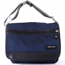 Mochila Carteiro Diesel Original On The Road Twice - Navy