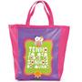 Bolsa Book Bag Coruja Carpe Diem - Pronta Entrega