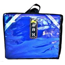 Mochila/bolsa De Pizza Térmica 40cm - Azul - Max Racing