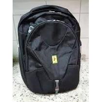 Mochila Ferrari Backpack Norma Preta - Frete Grátis