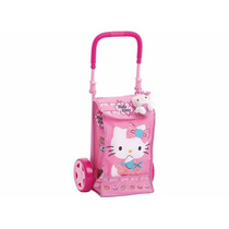 Mala Bag De Rodinha Da Hello Kitty Multibrink