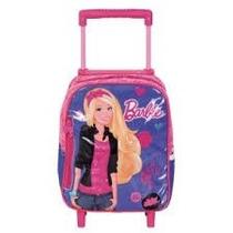 Mochila Rodinhas P Barbie 13m 062381 Sestini