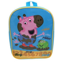 Mochila Infantil Do Irmao Da Peppa Pig George *licenciada*