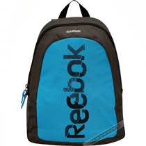 Mochila Masculina Reebok Notebook Azul Cinza Estojo Laptop