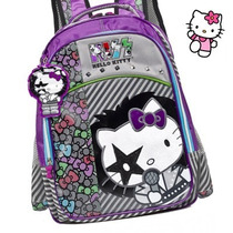 Mochila Hello Kitty Coleção Kiss
