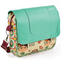 Bolsa Messenger Bag Frida Carpe Diem