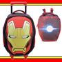 Kit Mochilete Lancheira Homem De Ferro Iron Man Avengers