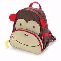 Mochila Infantil Skip Hop Zoo Material Escolar Animais Bolsa