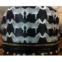 Bag Zebra Com Detalhes Dourados - H A Retro Shop