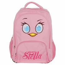 Kit Feminino Angry Birds Mochila Tam M + Estojo Ref Ab602062