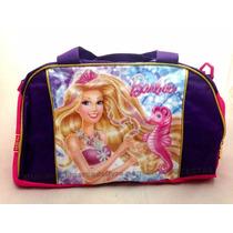 Mala De Mão Infantil Barbie Sereia Natação Original Menina
