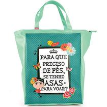 Bolsa Book Bag Frida Carpe Diem