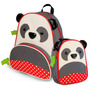 Kit Mochila Escolar E Lancheira Zoo Panda Skip Hop